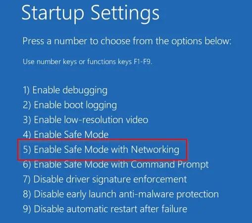 enable-safe-mode-windows10
