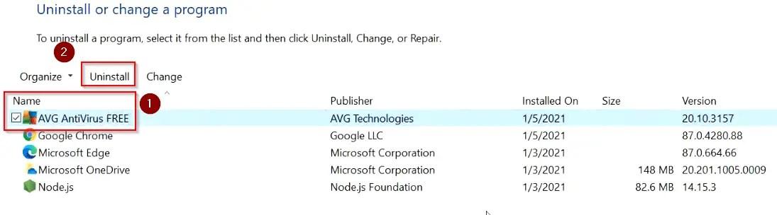 uninstall-avg-from-windows