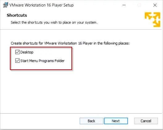 create-vmware-workstation-16-shortcuts