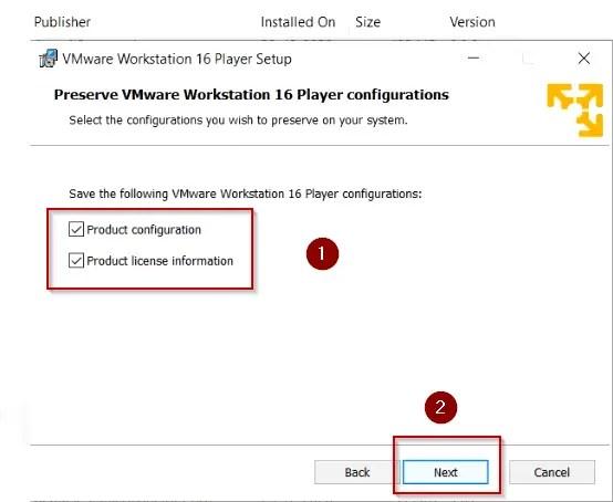 Preserve-production-configuration-vmware