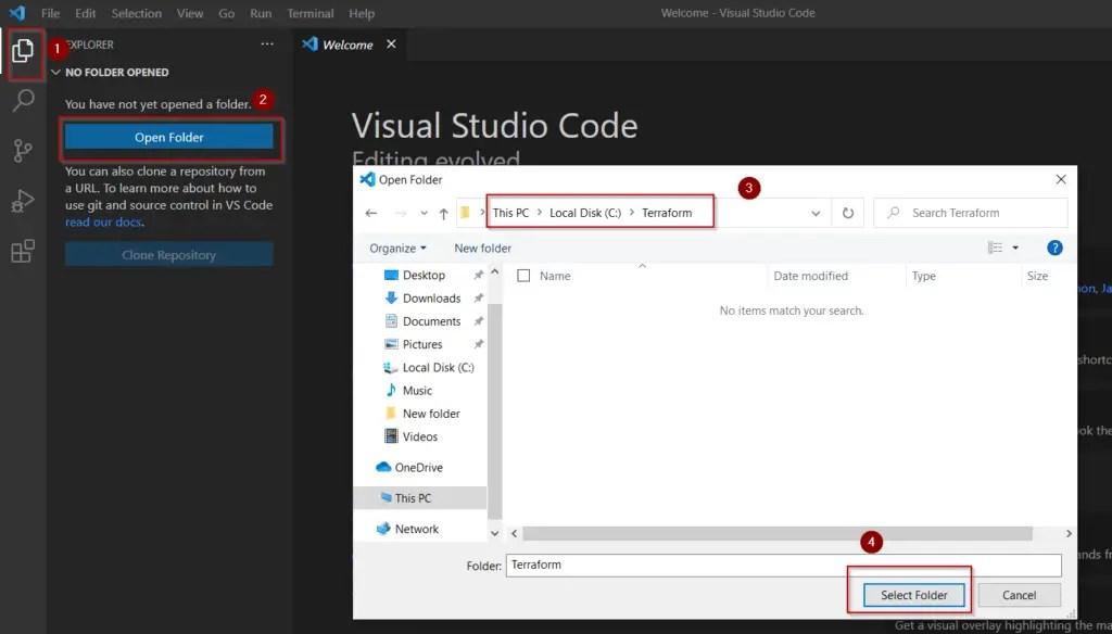 open-folder-for-visual-studio-code-editor