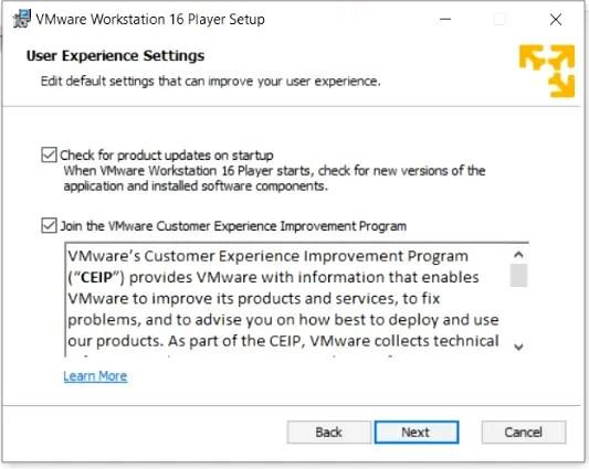 user-experience-settings