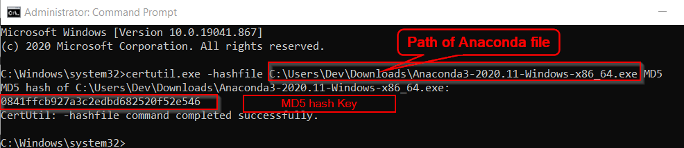 Commad-to-verify-md5-checksume-Windows10