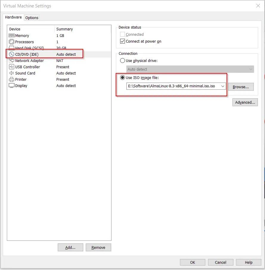 Provide-AlmaLinux-8-iso-image-file