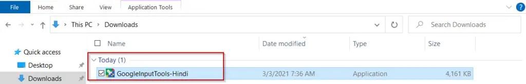 Run-google-input-tools-hindi-installer