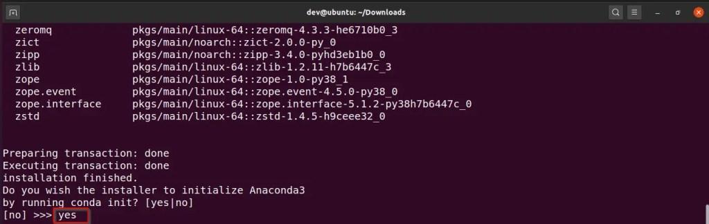Install-Anaconda-in-Ubuntu