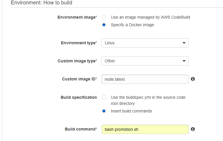 docker image selection