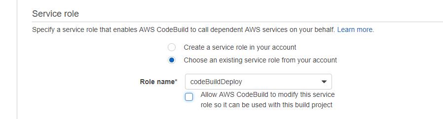 build role