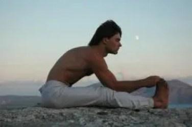 yoga seated forward bend pose
