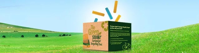 Green Smoke Recycling Program