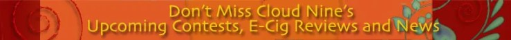 Cloud Nine's NewsVaper Sign Up Banner