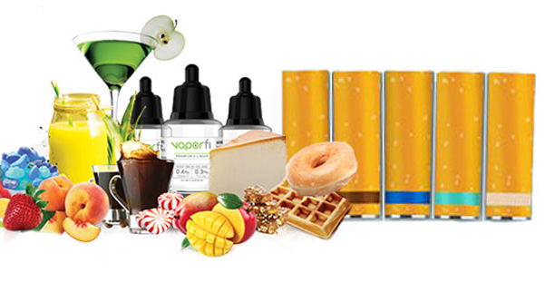 ecig cartridges and flavor sources