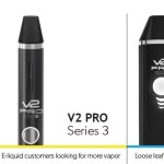 V2Cigs Unique Pro Series – Seamless Design, Drop in Cartridges, Magnetic Breakaway Charger