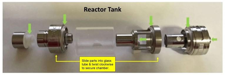 Halo Reactor Tank Assembly