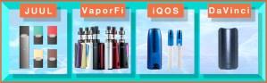 Vaporizers and HNB vapes