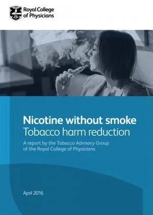 RCP Report -Nicotine without smoke
