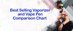 Best Vaporizer and Vape Pen Comparison Chart