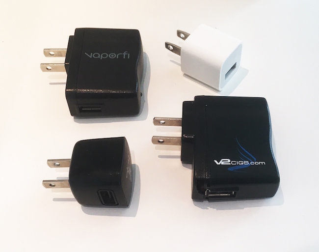 USB ecig power adapters