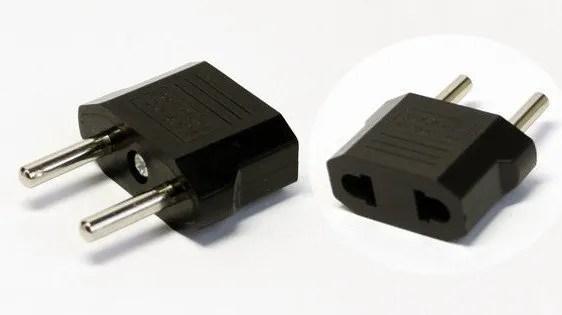 European adapter plug