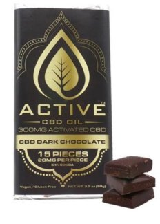 Active CBD Oil - Dark Chocolate