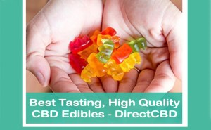 Best Tasting, HIgh Quality CBD Edibles - DirectCBD - Featured Image