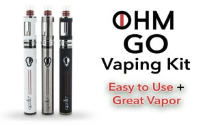 OHM GO Vaping Kit Featured Image