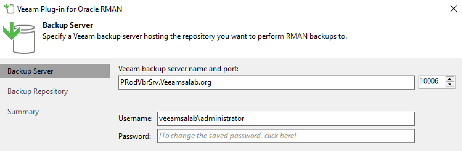 Integrated RMAN Backup - CloudOasis