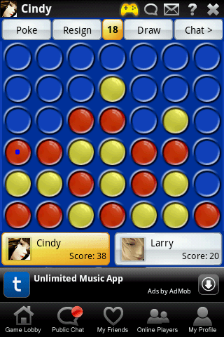 connect four online cloudroid