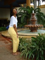 From my trip to Puerto Rico in 2011. I thrifted the trousers in Houston for less than $10!