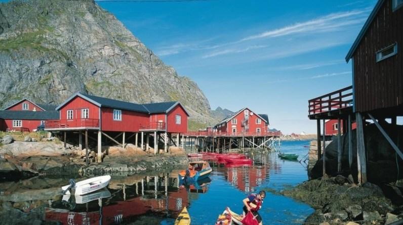 fisherman cabin lofoten