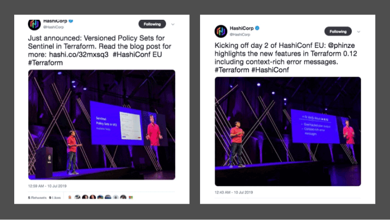 Key takeaways from HashiConf EU Sentinel policies