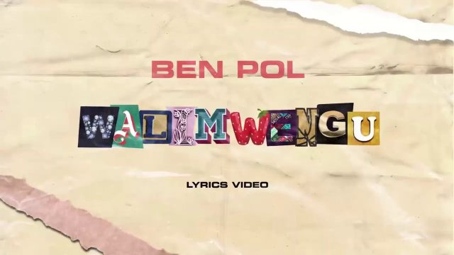 Ben Pol – Walimwengu Mp4 Download VIDEO