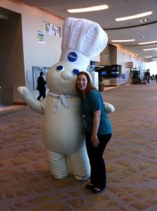 Pillsbury Dough Boy and me