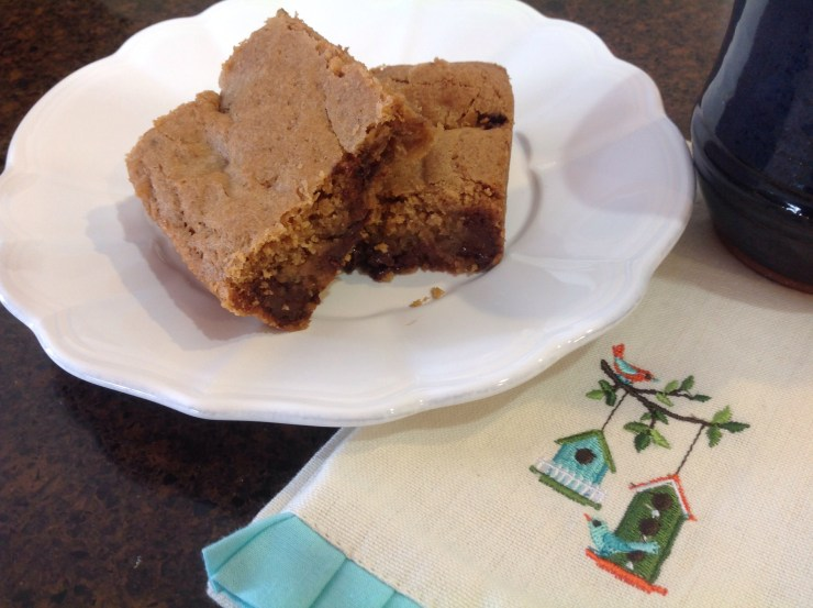 Easy Rolo Blondies
