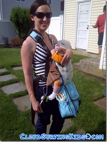 diaper bag baby carrier