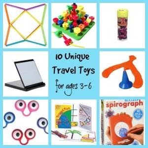 Unique Travel Toys