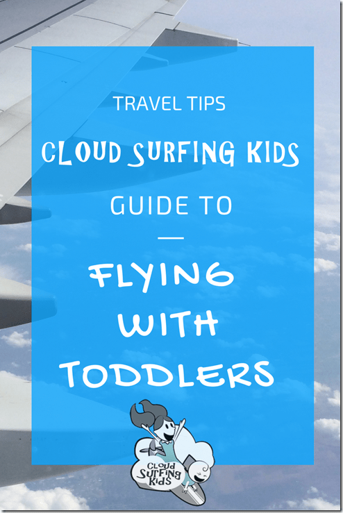 flying with toddlers