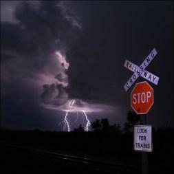 Lightning sign CG