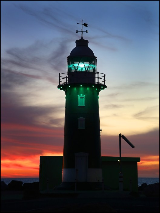South Mole lighthouse