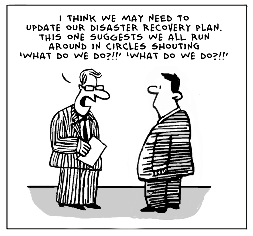 The Lighter Side Of The Cloud: Disaster Recovery Plan