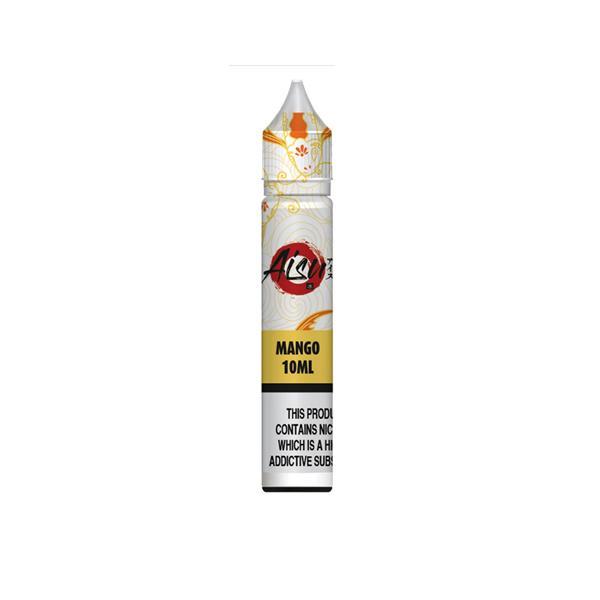 AISU Nic Salts 10Mg by ZAP Juice E-liquid, Cloud Vaping UK