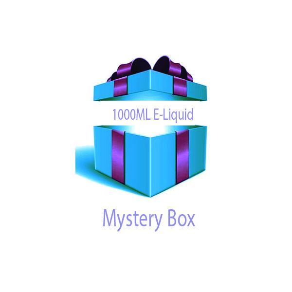 1000ml E-liquid MYSTERY BOX + Nic Shots, Cloud Vaping UK