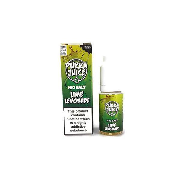 Pukka Juice 10ML 10Mg Flavoured Nic Salt E-liquid, Cloud Vaping UK