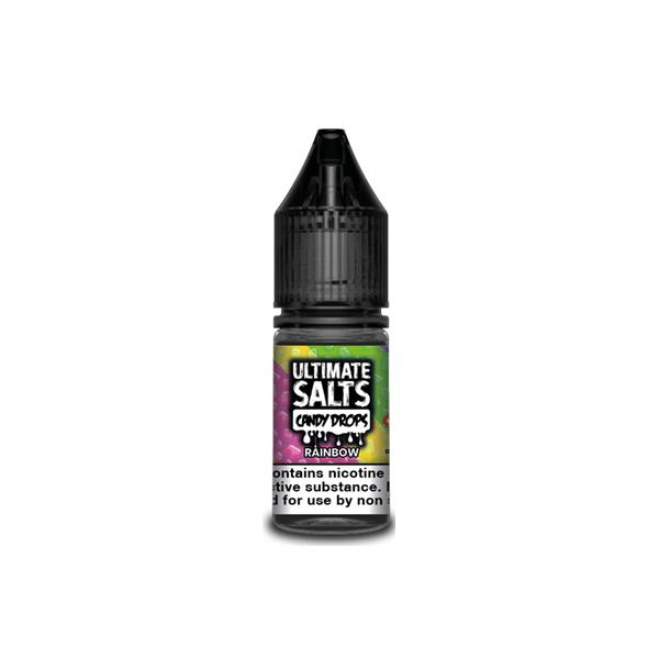 Ultimate Puff Salts Candy Drops 10ML 10Mg  Flavoured Nic Salts E-liquid, Cloud Vaping UK