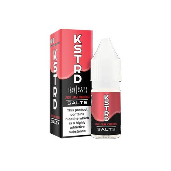 KSTRD 20Mg Nic Salts By Just Jam 10ml E-liquid, Cloud Vaping UK
