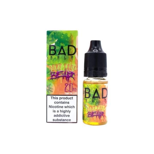 Bad Drip 20Mg Nic Salts 10ml E-liquid, Cloud Vaping UK