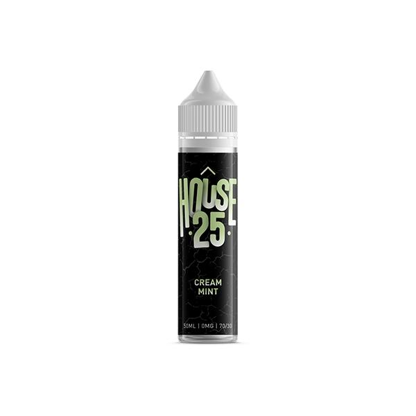 House 25 Shortfill E-liquid 50ml, Cloud Vaping UK
