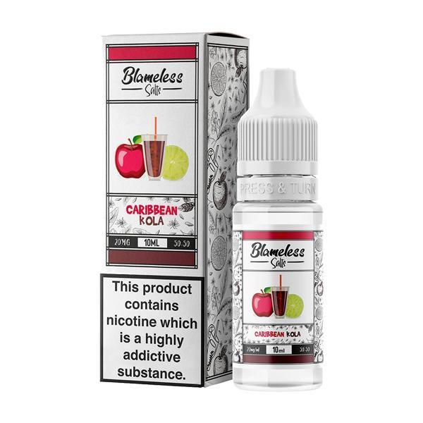 Blameless Juice Co. 10ml 10Mg Nic Salts E-liquid, Cloud Vaping UK