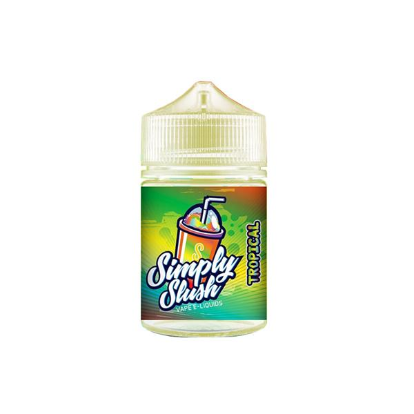 Simply Slush 0mg 50ml Shortfill E-liquid (70VG/30PG), Cloud Vaping UK