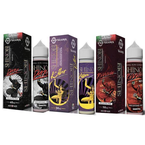 Valkiria 0mg 50ml Shortfill E-liquid, Cloud Vaping UK